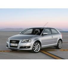 Силиконовая тонировка на статике для Audi A3 купе 2003-2012