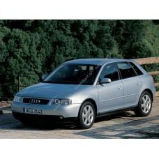 Силиконовая тонировка на статике для Audi A3 5D 1996-2003