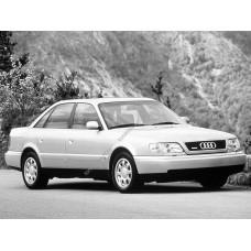 Силиконовая тонировка на статике для Audi A6 кузов С4 1994-1997