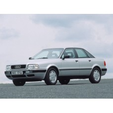 Силиконовая тонировка на статике для Audi 80 1991-1995