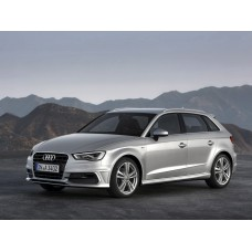 Силиконовая тонировка на статике для Audi A3 седан и хэтчбек 2012-н.в.