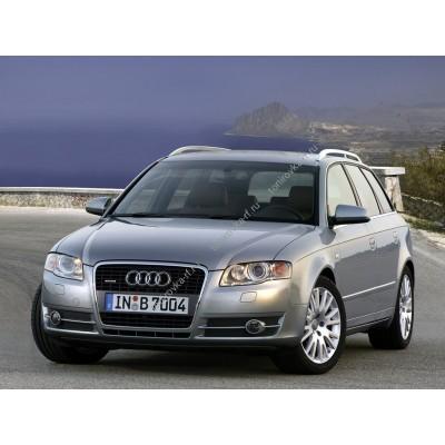 Купить силиконовую тонировку на статике для Audi A4 - 3 поколение B7 (2004- 2007) можно в магазине Тонировка-РФ.ру