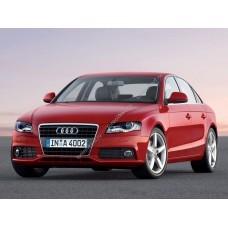 Силиконовая тонировка на статике для Audi A4 2009-2011