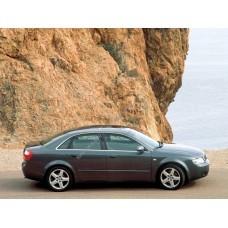 Силиконовая тонировка на статике для Audi A4 2000-2008