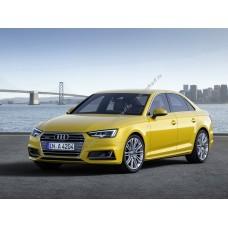 Силиконовая тонировка на статике для Audi A4 седан 2015-н.в.