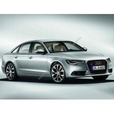 Силиконовая тонировка на статике для Audi A6 кузов С7 2010-2018