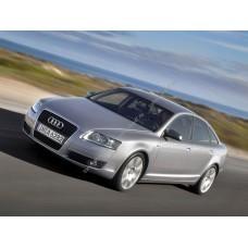 Силиконовая тонировка на статике для Audi A6 кузов С6 2004-2011