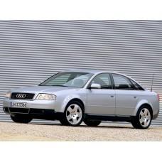 Силиконовая тонировка на статике для Audi A6 кузов C5 1997-2004
