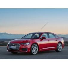 Силиконовая тонировка на статике для Audi A6 кузов С8 2018-н.в.