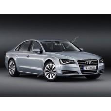 Силиконовая тонировка на статике для Audi A8 D4 2009-2017