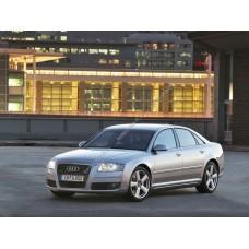 Силиконовая тонировка на статике для Audi A8 D3 2003-2009
