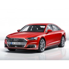 Силиконовая тонировка на статике для Audi A8 D5 2017-н.в.