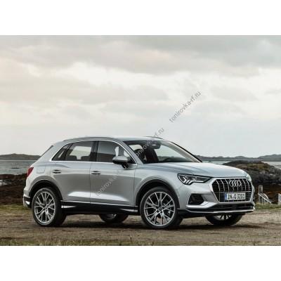 Купить силиконовую тонировку на статике для Audi Q3 2 поколение, F3 (07.2018 - н.в.)  можно в магазине Тонировка-РФ.ру