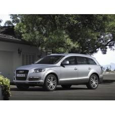 Силиконовая тонировка на статике для Audi Q7 2005-2015