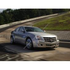 Силиконовая тонировка на статике для Cadillac CTS седан 2007-2014