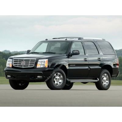 Купить силиконовую тонировку на статике для Cadillac Escalade 2001-2006, suv, 2 поколение можно в магазине Тонировка-РФ.ру