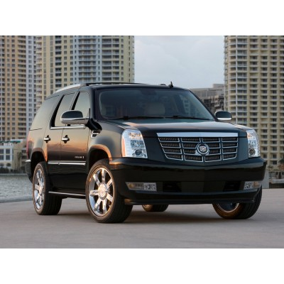 Купить силиконовую тонировку на статике для Cadillac Escalade 2006-2014, suv, 3 поколение можно в магазине Тонировка-РФ.ру