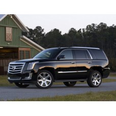 Силиконовая тонировка на статике для Cadillac Escalade 2015-нв, suv, 4 поколение