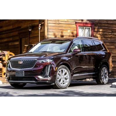 Купить силиконовую тонировку на статике для Cadillac XT6 5 дв. 1 пок. C1TL 2019 - н.в. можно в магазине Тонировка-РФ.ру