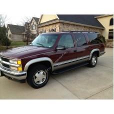 Силиконовая тонировка на статике для Chevrolet Suburban 1990-1999