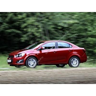 Купить силиконовую тонировку на статике для Chevrolet Aveo 2 поколение Т300 2011-2015 можно в магазине Тонировка-РФ.ру