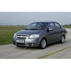 Силиконовая тонировка на статике для Chevrolet Aveo 1 поколение T250 2005-2011 седан