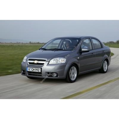 Купить силиконовую тонировку на статике для Chevrolet Aveo 1 поколение T250 2005-2011 седан можно в магазине Тонировка-РФ.ру
