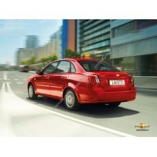 Силиконовая тонировка на статике для Chevrolet Lachetti