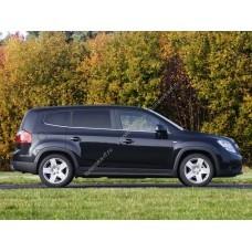 Силиконовая тонировка на статике для Chevrolet Orlando минивэн, 1 поколение (11.2011 - 10.2015)