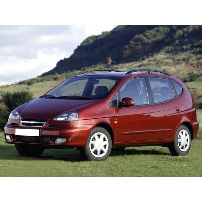 Купить силиконовую тонировку на статике для Chevrolet Rezzo 00-08 седан можно в магазине Тонировка-РФ.ру