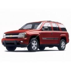 Силиконовая тонировка на статике для Chevrolet Trail Blazer 1 поколение, GMT360 2001-2010