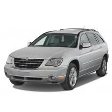 Силиконовая тонировка на статике для Chrysler Pacifica 1 поколение, CS (2003-2007)