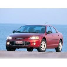 Силиконовая тонировка на статике для Chrysler Sebring, седан, 2 поколение 2000-2006