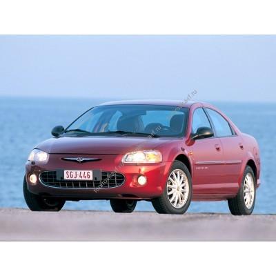 Купить силиконовую тонировку на статике для Chrysler Sebring, седан, 2 поколение 2000-2006 можно в магазине Тонировка-РФ.ру