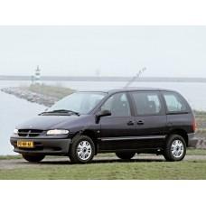 Силиконовая тонировка на статике для Chrysler Voyager 1995, минивэн, 3 поколение, GS (01.1995 - 09.2000)