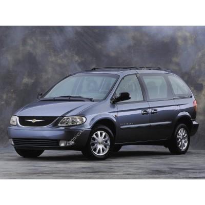 Купить силиконовую тонировку на статике для Chrysler Voyager 2000, минивэн, 4 поколение, RG (10.2000 - 05.2004) можно в магазине Тонировка-РФ.ру