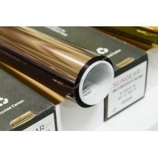 Зеркальная тонировочная пленка SunGear R Bronze 15%, рулон 30.5м