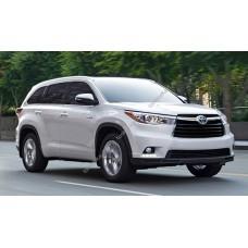 Силиконовая тонировка на статике для Toyota Highlander 2007-2013