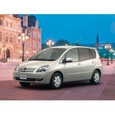 Силиконовая тонировка на статике для Toyota Corolla Spacio 2001-2007