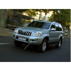 Силиконовая тонировка на статике для Toyota Land Cruiser Prado 120 2002-2009