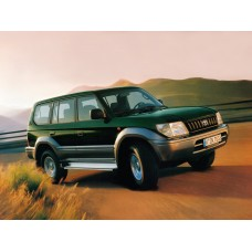Силиконовая тонировка на статике для Toyota Land Cruiser Prado 90 1996-2002