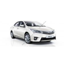 Силиконовая тонировка на статике для Toyota Corolla 2013-2016
