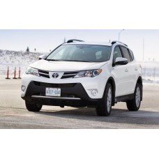 Силиконовая тонировка на статике для Toyota RAV4 2013-2015