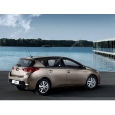 Силиконовая тонировка на статике для Toyota Auris 2 поколение, E180 (2012 - 03.2018)
