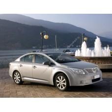 Силиконовая тонировка на статике для Toyota Avensis 3 поколение T270 2008-2012