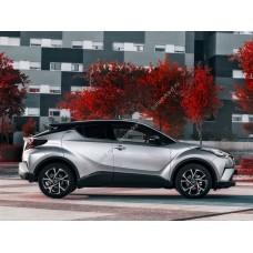 Силиконовая тонировка на статике для Toyota C-HR 1 поколение 2016-н.в.