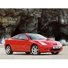 Силиконовая тонировка на статике для Toyota Celica - 7 поколение 1999-2005 - T230