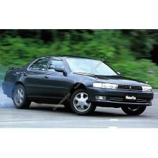 Силиконовая тонировка на статике для Toyota Сresta 90 1992-1996