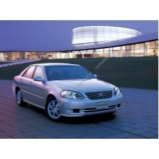 Силиконовая тонировка на статике для Toyota Mark II 110 2000-2004
