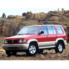 Силиконовая тонировка на статике для Acura SLX 1 поколение 1995 - 1999